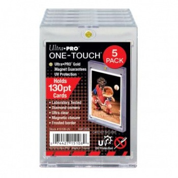 UP One Touch Card Holder 130pt (5-Pack)