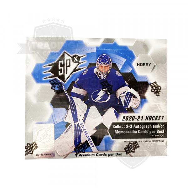 2020/21 Upper Deck SPx Hockey NHL Hobby Box