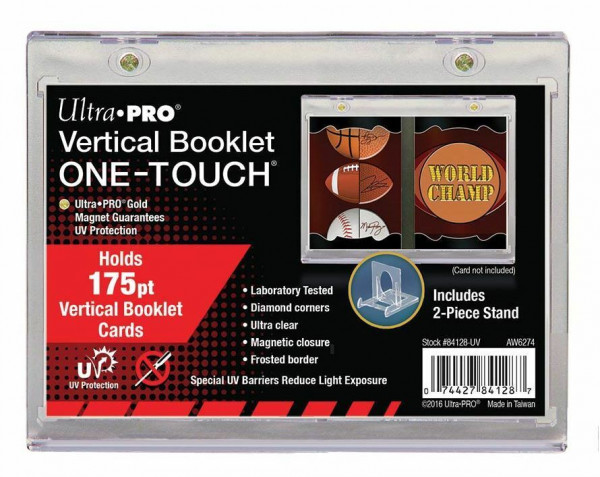 UP One-Touch Vertical Booklet Holder 175pt