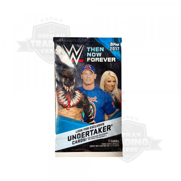 Topps WWE 2017 Then Now Forever Retail Pack