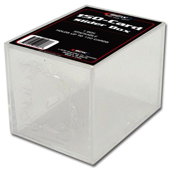 BCW Plastikkasten für 150 Karten, 2-teilig