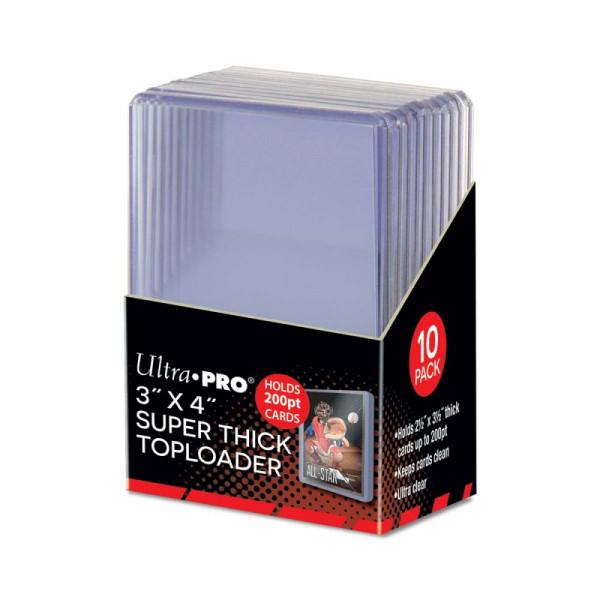 "Ultra Pro 200pt 3"" x 4"" Toploader (10pcs)"