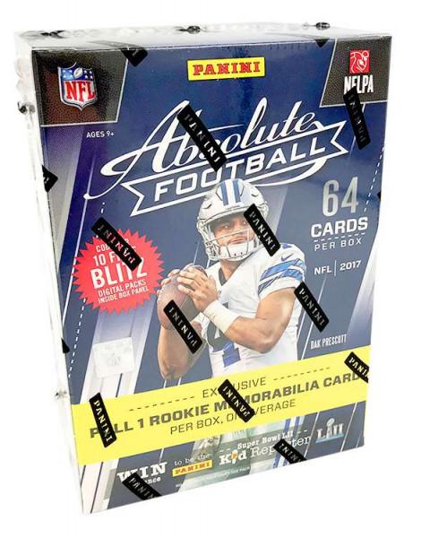 Panini Absolute Football 2017 Blaster Box