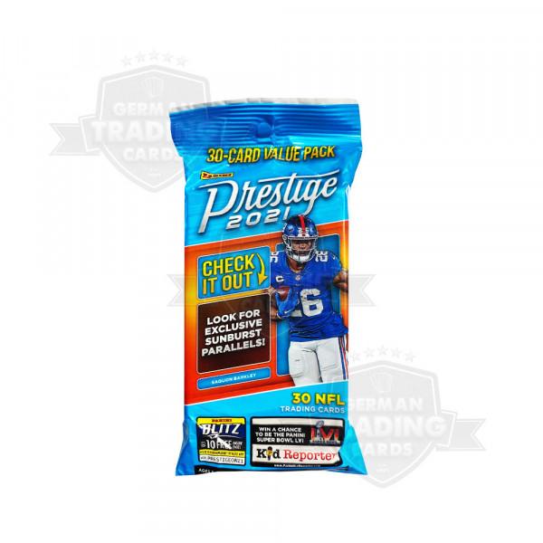 Panini Prestige Football 2021 Cello Value Pack