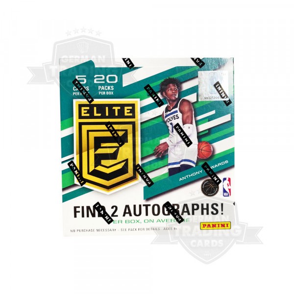 2021 Panini Donruss Elite Basketball Hobby Box