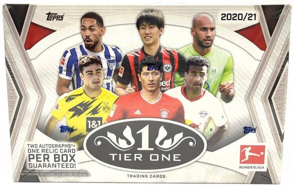 Topps Tier One Bundesliga 2021 Soccer Hobby Box