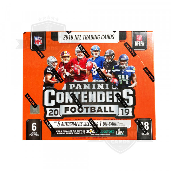 Panini Contenders 2019 Football NFL Hobby Box