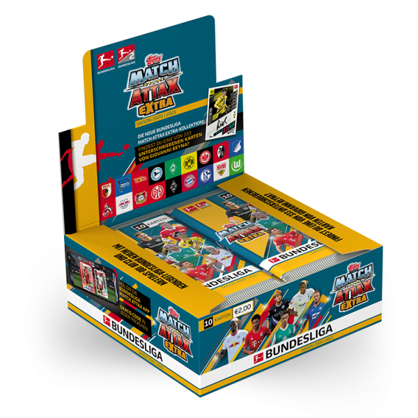 Bundesliga Match Attax Extra 20/21 Display (20 Packs)