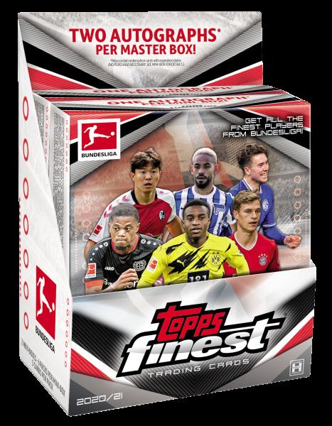 Topps Finest Bundesliga 2020-2021 Hobby Box