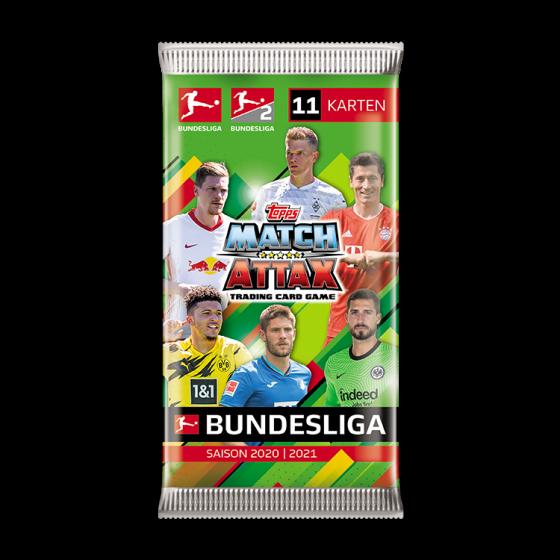 Bundesliga Match Attax 20/21 Kartenpäckchen