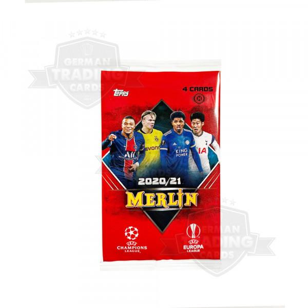 Topps Merlin Chrome 20/21 UEFA Champions League Hobby Pack