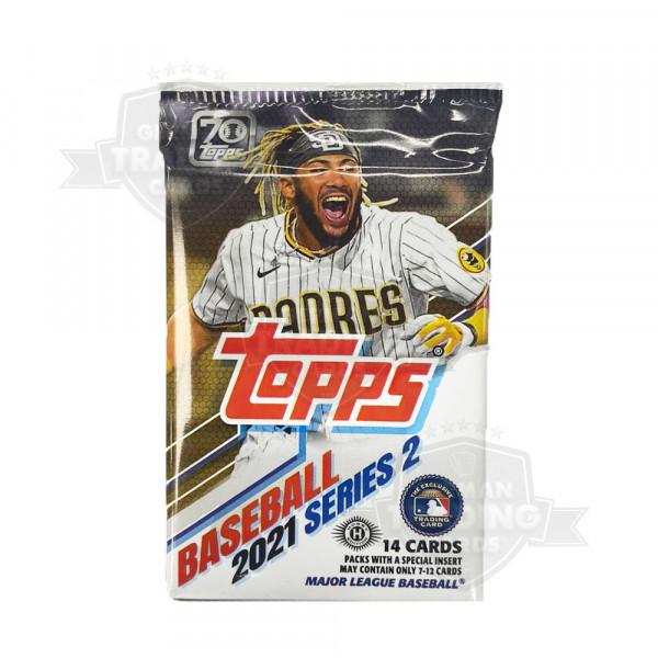 2021 Topps Series 2 Baseball Hobby Pack