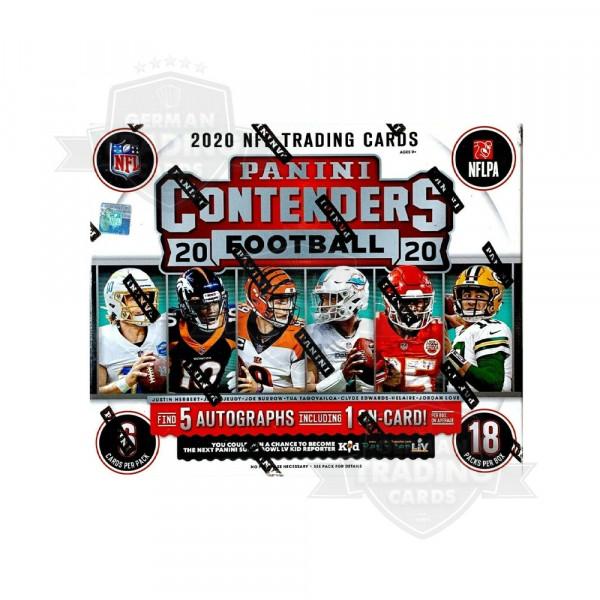 Panini Contenders 2020 Football NFL Hobby Box