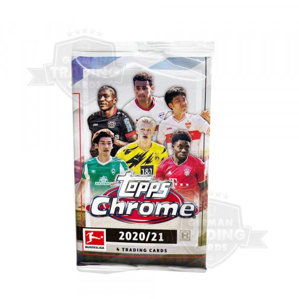Topps Chrome Bundesliga 2020-21 Hobby Pack