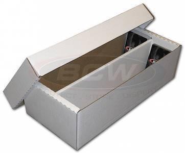 BCW Pappkarton für 1600 Karten (Shoe Box)