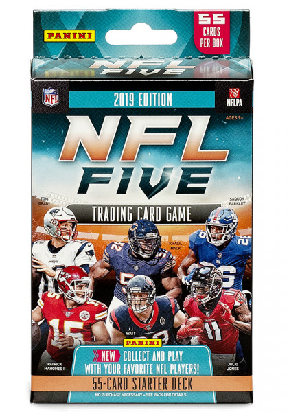 Panini NFL Five Football Trading Card Game Starter Deck