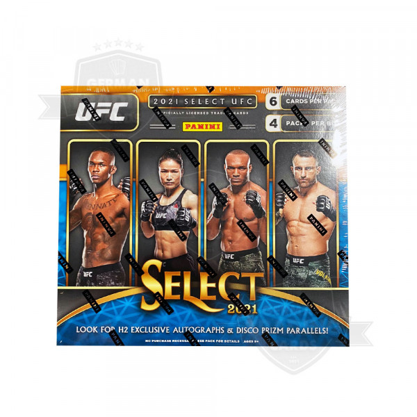Panini Select 2021 UFC Hobby Hybrid Box