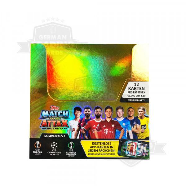 Topps Champions League Match Attax 2021/2022 Display mit 24 Tüten