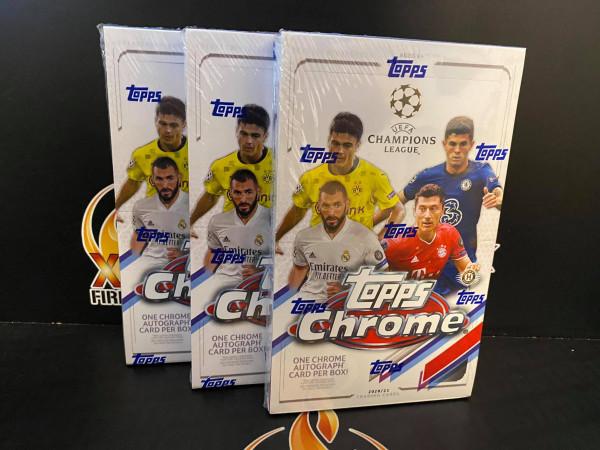 3 BOX TOPPS CHROME CL 20/21 PYT #2