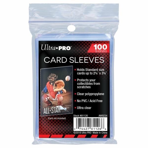 Ultra Pro Standard Regular Soft Sleeves 100 pcs
