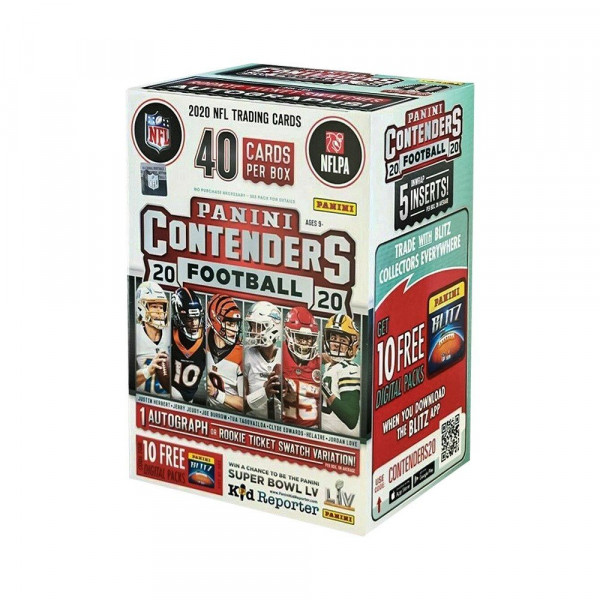 Panini Contenders 2020 Football Blaster Box