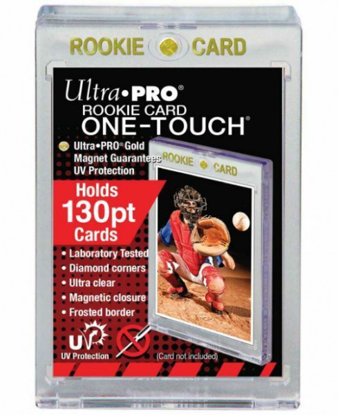 "UP One Touch Card Holder 130pt ""Rookie Card"""